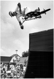 BMX Bike Tricks Archival Photo Poster Print