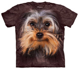 Yorkshire Terrier Face T-shirts