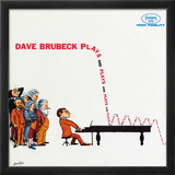 Dave Brubeck - Plays and Plays and Plays Print