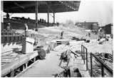 1930 Wrigley Field Construction Archival Photo Poster Posters