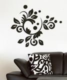 Romantic Bloom 3D Foam Wall Decals Wall Decal