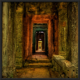 The Secret Passageway to the Treasure Framed Photographic Print by Trey Ratcliff