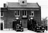 Boston Vintage Fire Station Archival Photo Poster Reprodukcje