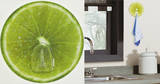 Lime Fruit Magic Hook Wall Decal