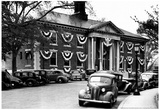 Braintree Massachusetts Town Hall 1940 Archival Photo Poster Posters
