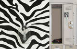 Zebra Magic Locker Locker Hook Vinilo decorativo