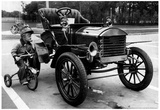 Antique Car Archival Photo Poster Poster