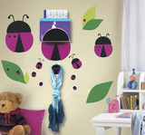 One Décor Lady Bug Chalk Peel & Stick Wall Decals Wall Decal