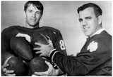 Ara Parseghian Notre Dame Football Coach Archival Photo Poster Plakater