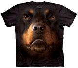 Rotweiller Face T-skjorter