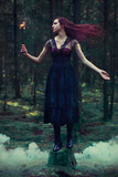 The Dark Lord Is Calling Photographic Print by Iness Rychlik