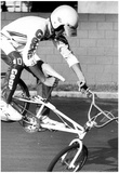 BMX Bike Tricks Archival Photo Poster Posters