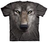 Wolf Face T-skjorter
