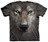 Wolf Face Tshirts