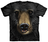 Black Bear Face T-shirts