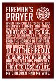 A Fireman's Prayer Art Print Poster Photographie