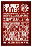 A Fireman's Prayer Art Print Poster Billeder