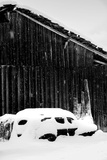 Snow Vehicle Photographic Print by Craig Howarth