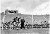 Ara Parseghian Notre Dame Football Coach Archival Photo Poster Plakat