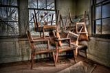 Chairs Photographic Print by Stephen Arens