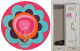 Flower Magic Locker Hook Wall Decal