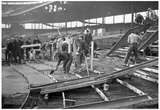 1930 Wrigley Field Construction Archival Photo Poster Plakater