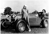 South Florida Auto Show Hot Rod Archival Photo Poster Print