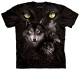 Moon Eyes Collage T-shirts