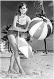 Bathing Suit Girl Archival Photo Poster Posters