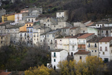 The Small Hillside Town of Prezza Near Pratola Peligna, Italy Photographic Print by Scott S. Warren