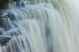 Close Up of Water Cascading over Rocks Photographic Print by Ralph Lee Hopkins
