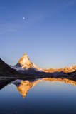 Matterhorn Mountain Reflected in Riffelsee Lake Photographic Print by Jonathan Irish