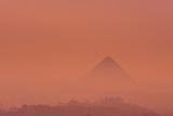 The Pyramid of Khufu at Sunrise Photographic Print by Kenneth Garrett