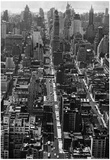 57th Street New York 1953 Archival Photo Poster Photo