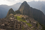 Machu Picchu, the Lost City of the Incas, and Huayna Picchu Peak Photographic Print by Jonathan Irish