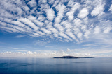 Clouds over Lake Titicaca and Taquile Island, in the Distance Photographic Print by Jonathan Irish