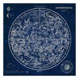 Celestial Blueprint Premium Giclee Print by Sue Schlabach