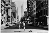 Lexington Ave NYC 1957 Archival Photo Poster Poster