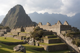 Machu Picchu, the Lost City of the Incas and Huayna Picchu Peak Photographic Print by Jonathan Irish