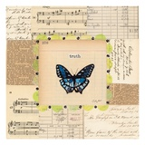 Truth Butterfly Giclee Print by Courtney Prahl