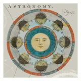 Lunar Calendar Premium Giclee Print by Sue Schlabach