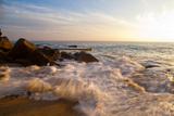 Laguna Beach Shore Break and Waves Photographic Print by Ben Horton