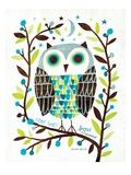 Michael Mullan - Night Owl I Speciální digitálně vytištěná reprodukce