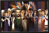 Doctor Who Doctors Collage Posters