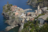 Manarola from a Coastal Walking Trail Connecting Five Towns in the Cinque Terre Photographic Print by Scott S. Warren