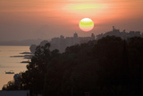 The Setting Sun over Lemesos, Cyprus Photographic Print by Scott S. Warren