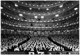 Metropolitan Opera New York City 1940 Archival Photo Poster Julisteet