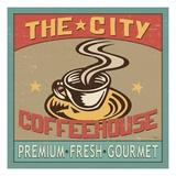 Coffeehouse I Premium Giclee Print by  Pela
