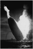 Hindenburg Crash 1937 Archival Photo Poster Prints