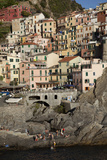 Manarola, One of Five Towns in the Cinque Terre in Northern Italy Photographic Print by Scott S. Warren